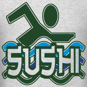 SUSHI MOB Long Sleeve Shirts - Men's T-Shirt