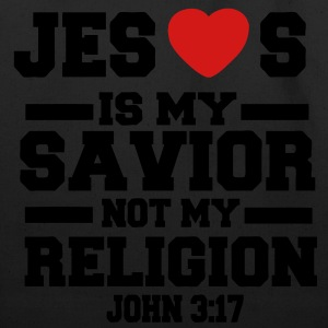 JESUS IS MY SAVIOR T-Shirts - Eco-Friendly Cotton Tote
