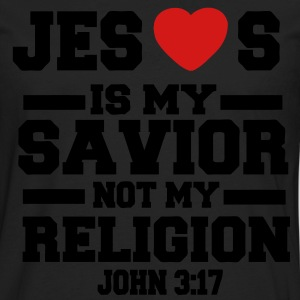 JESUS IS MY SAVIOR T-Shirts - Men's Premium Long Sleeve T-Shirt