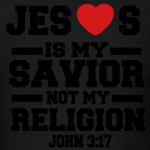 JESUS IS MY SAVIOR Hoodies - Men's T-Shirt