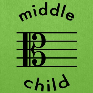 Viola Is The Middle Child T-Shirts - Tote Bag