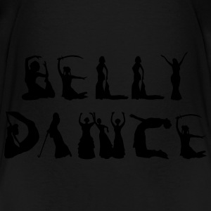 Belly Dancer Alphabet Bags  - Toddler Premium T-Shirt