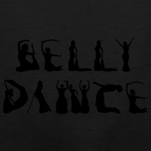 Belly Dancer Alphabet Bags  - Men's Premium Tank