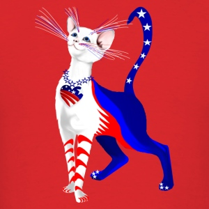 An All American Cat - Men's T-Shirt