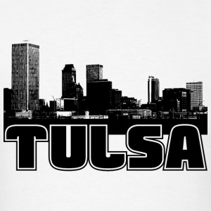Tulsa Skyline Hooded Sweatshirt - Men's T-Shirt