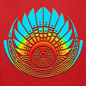 Crop circle - Mayan mask - Silbury Hill 2009 - Quetzalcoatl - Native Americans - Aztec - Venus - 2012  / Women's T-Shirts - Tote Bag