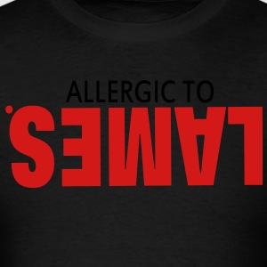 ALLERGIC TO LAMES. Hoodies - Men's T-Shirt