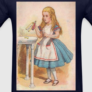 Drink me - Alice in Wonderland Long Sleeve Shirts - Men's T-Shirt