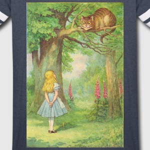 The Cheshire-Cat Hoodies - Vintage Sport T-Shirt