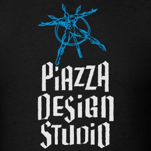 Piazza Design Studio Logo Long Sleeve Shirts - Men's T-Shirt