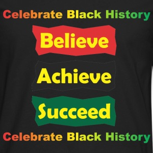 Achieve Believe Succeed Kids' Shirts - Men's Premium Long Sleeve T-Shirt