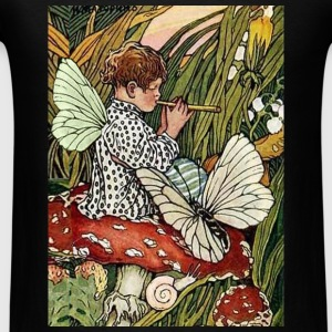 The Musical Mushroom Fairy Bags  - Men's T-Shirt