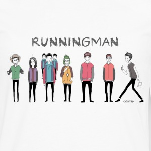 Running Man Cast (Episode 74 Super Natural) T-Shir - Men's Premium Long Sleeve T-Shirt