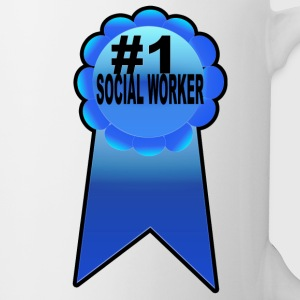 #1 Social Worker - Coffee/Tea Mug