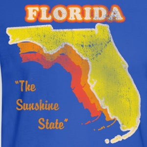 Florida, The Sunshine State retro womens t-shirt - Men's Long Sleeve T-Shirt