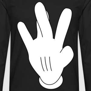 Westside Mickeymouse hand Hoodies - Men's Premium Long Sleeve T-Shirt