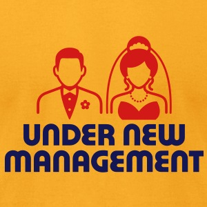 Under New Management 1 (2c)++ Bags  - Men's T-Shirt by American Apparel