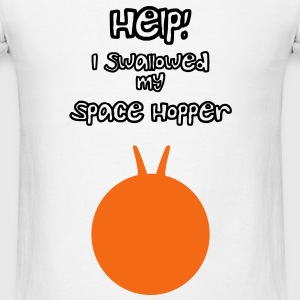 Help I Swallowed my Space Hopper Tanks - Men's T-Shirt