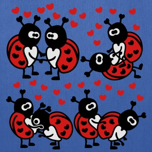 Ladybugs in Love T-Shirts - Tote Bag