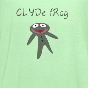 Clyde frog shirt - Women's Flowy Tank Top by Bella