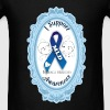 I Support MLD Awareness _Blue Frame Bags  - Men's T-Shirt