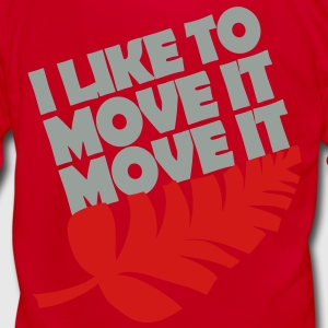 I like to move it move it Women's T-Shirts - Unisex Fleece Zip Hoodie by American Apparel