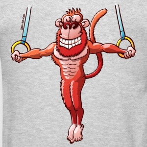 Olympic Flying Rings Monkey Sweatshirts - Men's T-Shirt
