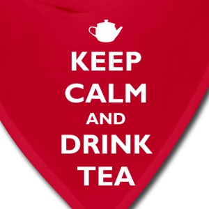 Keep Calm and Drink Tea Women's T-Shirts - Bandana