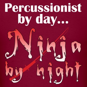 Percussion Ninja - Men's T-Shirt