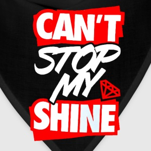 Can't Stop My Shine Tee - Bandana