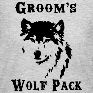 Groom's Wolf Pack - Women's Long Sleeve Jersey T-Shirt