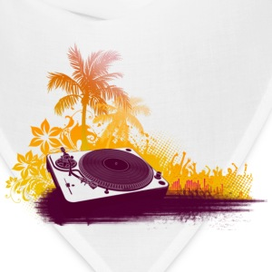 Turntable Beach DJ Hoodies - Bandana