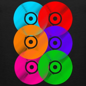 Vinyl Colours DJ Hoodies - Men's Premium Tank