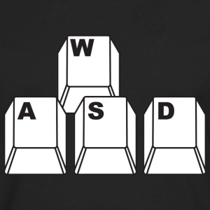 WASD Hoodies - Men's Premium Long Sleeve T-Shirt