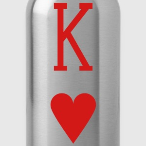 King of Hearts T-Shirts - Water Bottle