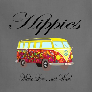 Hippies: Make Love...not War! T-Shirts - Adjustable Apron