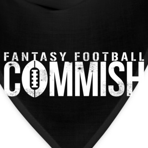 FANTASY FOOTBALL COMMISH T-Shirts - Bandana