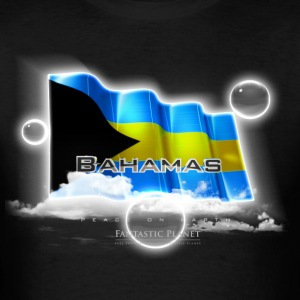 Bahamas Quality Tshirt, Flag of Bahamas, Bahamas T-Shirts, Bahamas  Long Sleeve Shirts - Men's T-Shirt