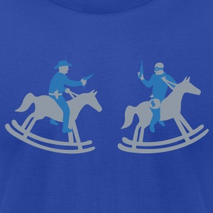 Royal blue The Chase Sweatshirt - Men's T-Shirt by American Apparel