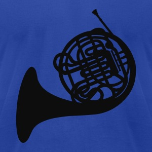 French Horn Sweatshirt - Men's T-Shirt by American Apparel