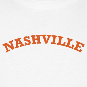 White Nashville Men - Men's T-Shirt