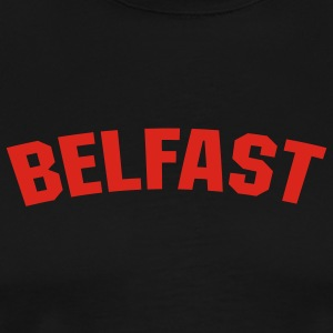 Black Belfast Men - Men's Premium T-Shirt