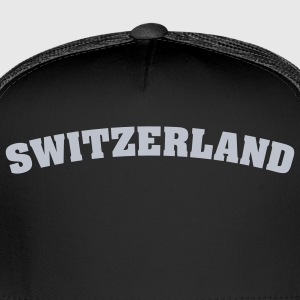 Black Switzerland Men - Trucker Cap