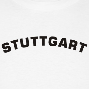 White Stuttgart Men - Men's T-Shirt