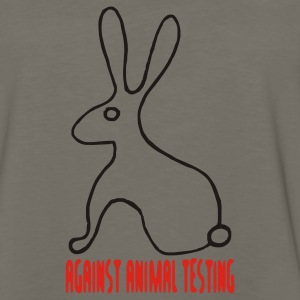 Against Animal Testing - Men's Premium Long Sleeve T-Shirt