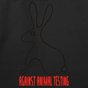 Against Animal Testing - Eco-Friendly Cotton Tote