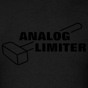 Analog Limiter Hoodies - Men's T-Shirt