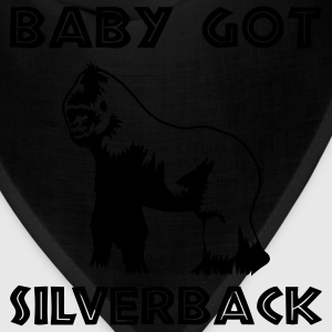 Black Baby Got Silverback Men - Bandana