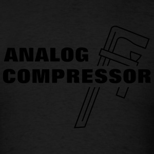 Analog Compressor Hoodies - Men's T-Shirt