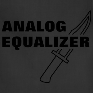 Analog Equalizer Hoodies - Adjustable Apron